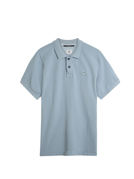 C.P. Company GD Regular Fit SS Polo Shirt in Blue
