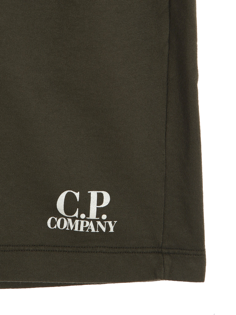 C.P. Company GD Shorts in Military Green