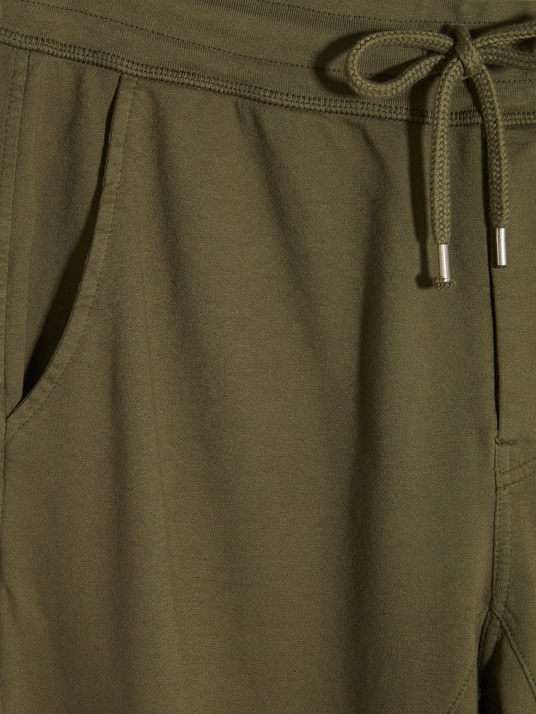 C.P. Company Light Fleece Joggers in Green