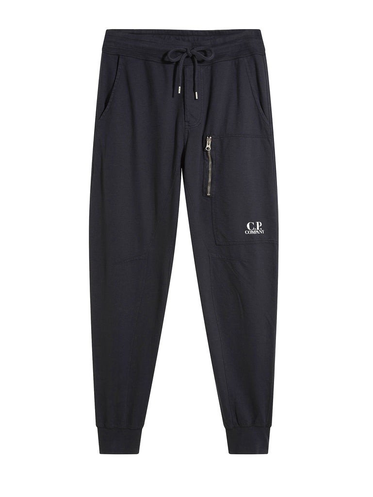 C.P. Company Light Fleece Joggers in Navy