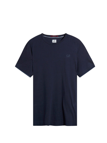 C.P. Company Short Sleeve Tonal T-Shirt in Navy