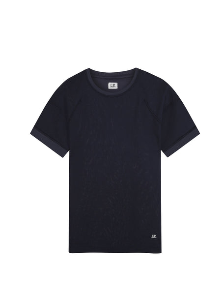 C.P. Company SS T-shirt in Navy