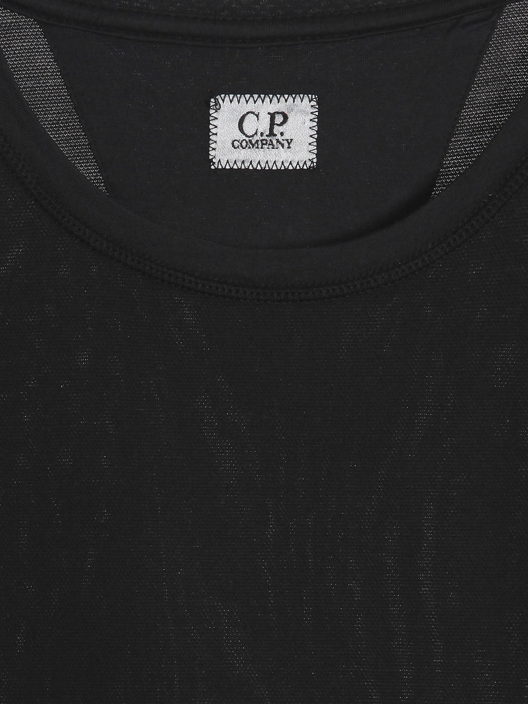 C.P. Company SS T-shirt in Black