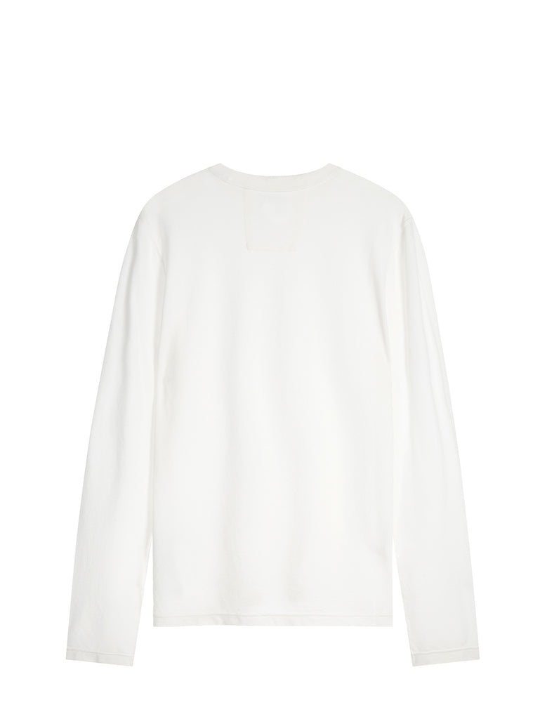 C.P. Company Garment Dyed Crêpe Jersey in White