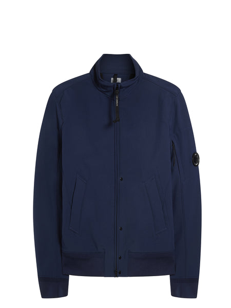 C.P. Shell Bomber Jacket in Navy