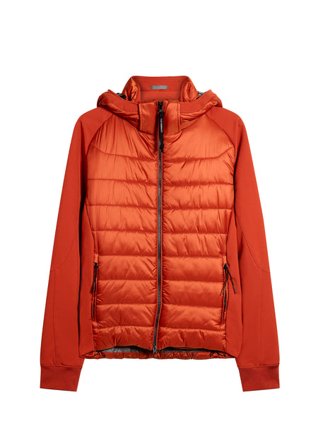 C.P. Shell Goggle Track Jacket in Orange