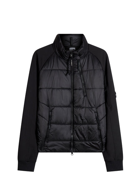 C.P. Shell Padded Track Jacket in Black