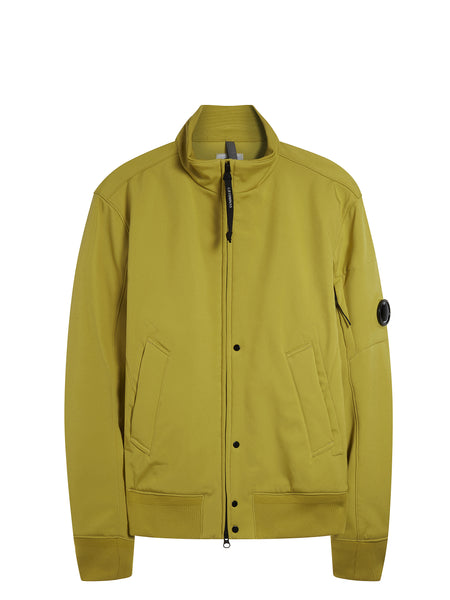 C.P. Shell Bomber Jacket in Yellow