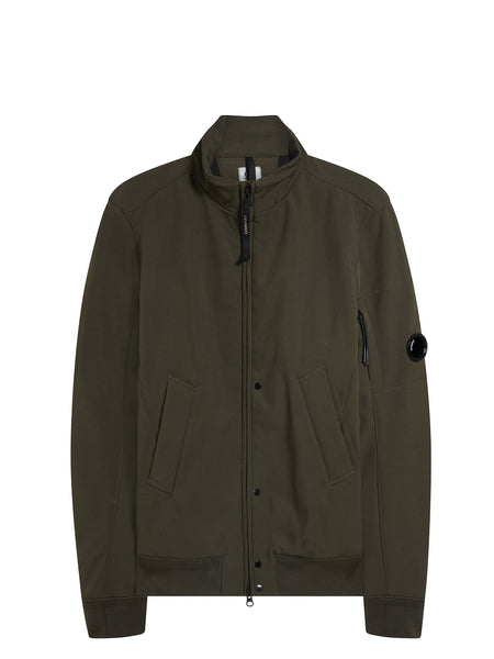 C.P. Shell Bomber Jacket in Khaki