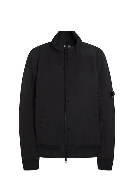 C.P. Shell Bomber Jacket in Black