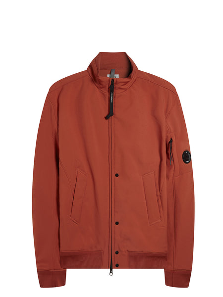 C.P. Shell Bomber Jacket in Orange