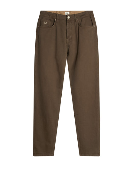 Five Pocket Trousers in Brown