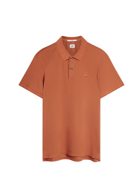 Tacting Regular-Fit Polo Shirt in Orange