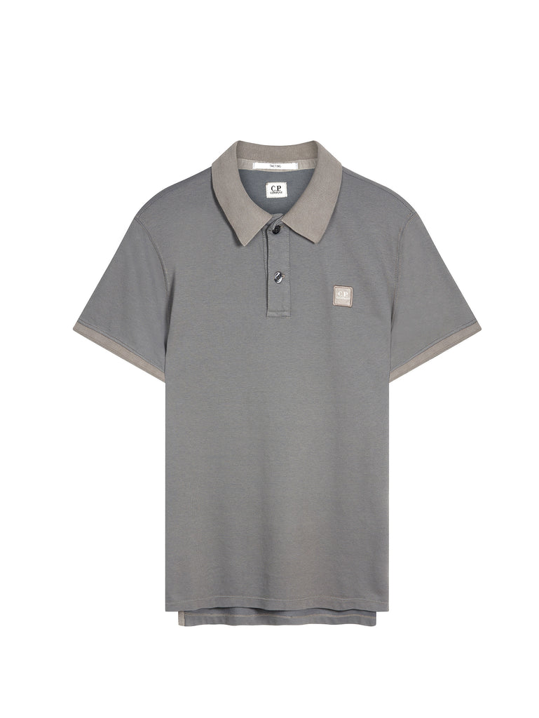 Tacting Regular-Fit Polo Shirt in Grey
