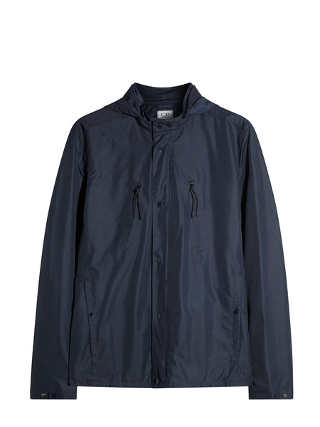 Micro M Overshirt in Navy