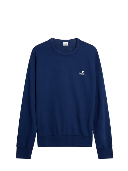 Crewneck Logo Sweatshirt in Blue