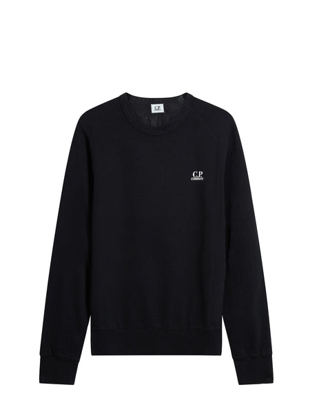 Crewneck Logo Sweatshirt in Black