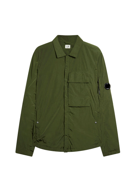 CHROME Overshirt in Dark Olive