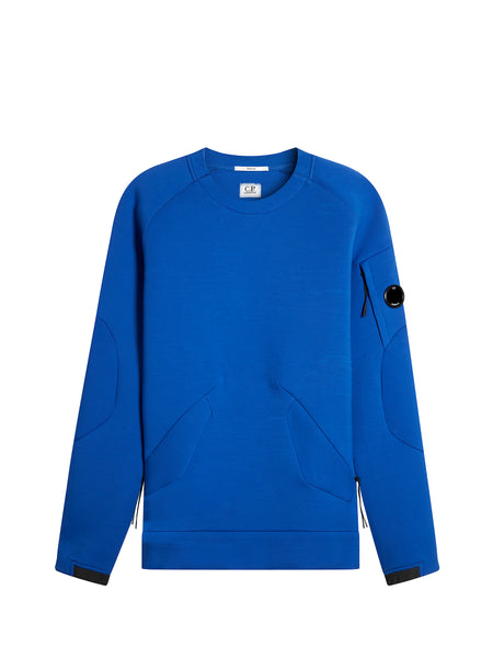Scuba Fleece Crew Sweatshirt in Dazzling Blue