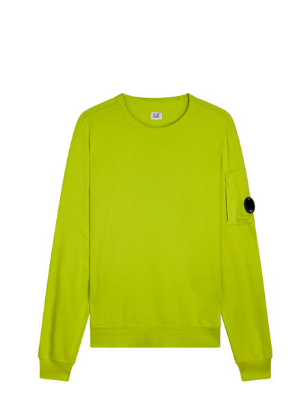 Light Fleece Lens Sweatshirt in Primrose Green