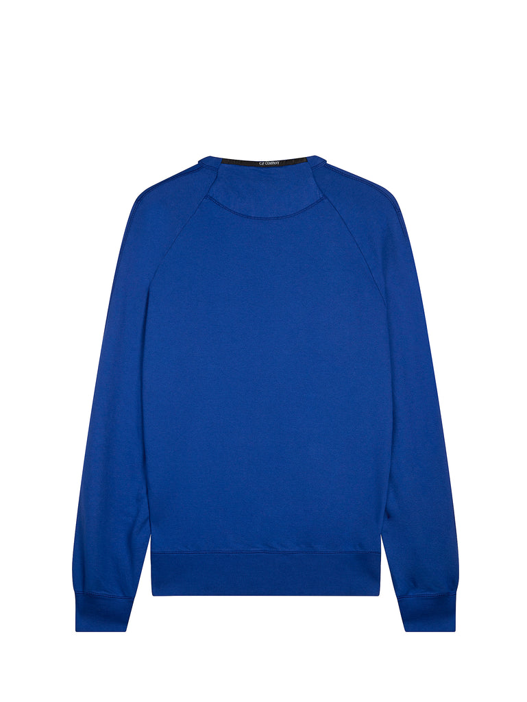 Logo Crew Neck Sweatshirt in Dazzling Blue