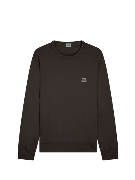 Logo Crew Neck Sweatshirt in Raven Grey