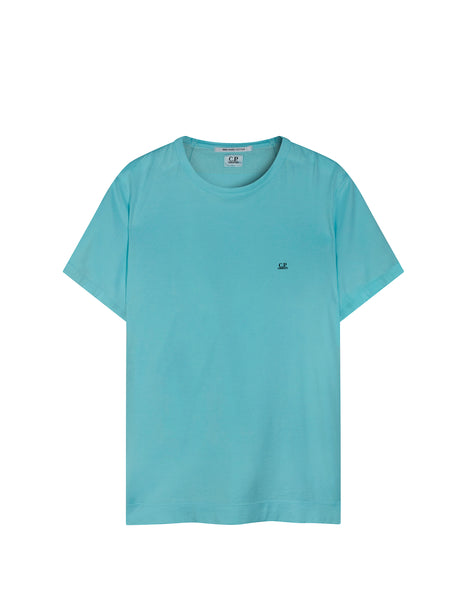Mako Cotton T-Shirt in Blue Radiance