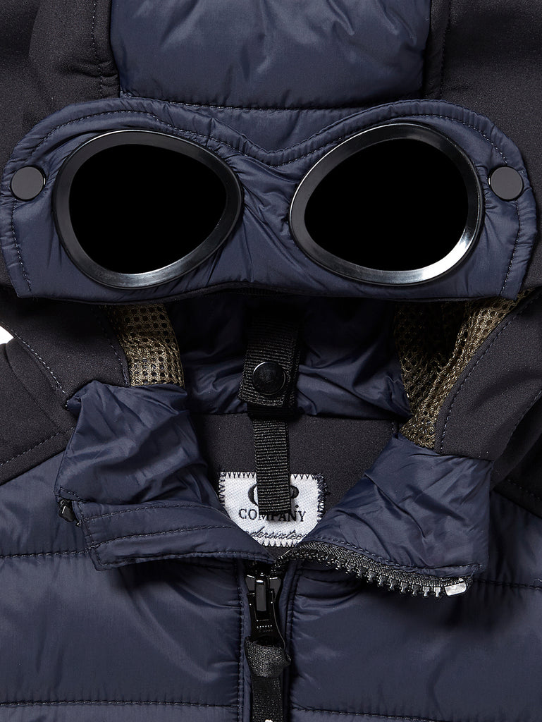 Undersixteen Goggle Gilet in Total Eclipse