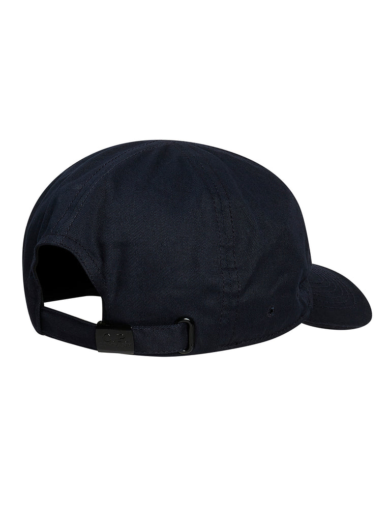 Embroidered Logo Baseball Cap in Total Eclipse