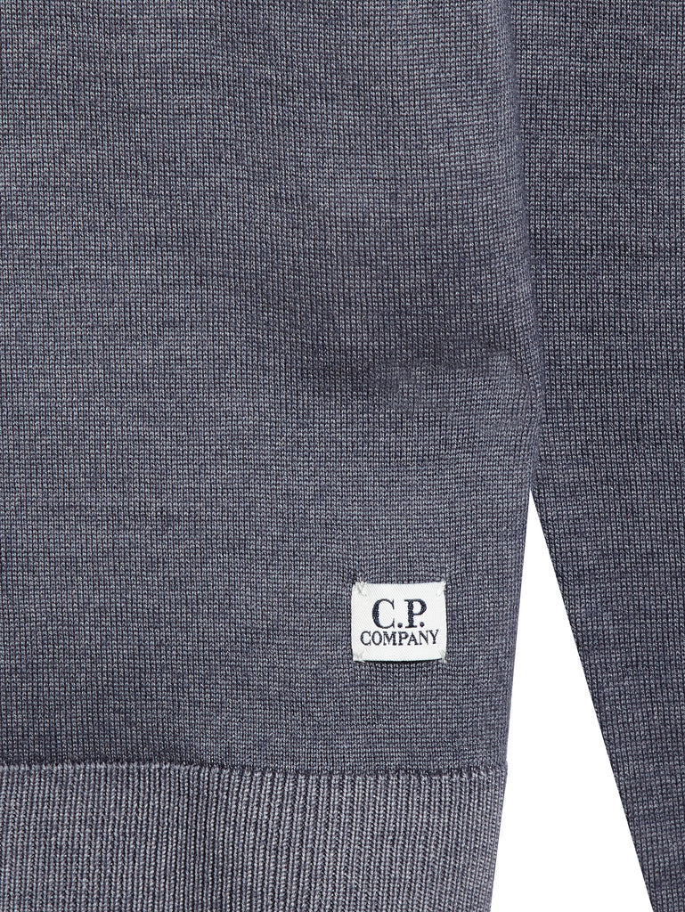 Merino Wool GD Sweater in Ash Grey