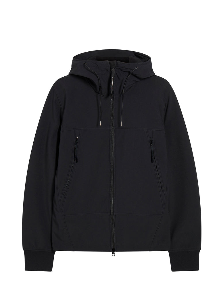 Shell Goggle Hood Jacket in Black Coffee