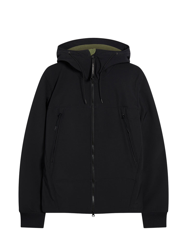 Shell Hooded Jacket in Total Eclipse
