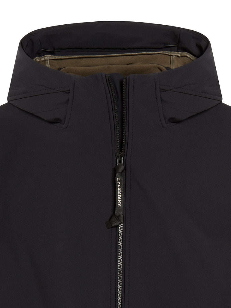 Lens Sleeve Hooded Jacket in Total Eclipse