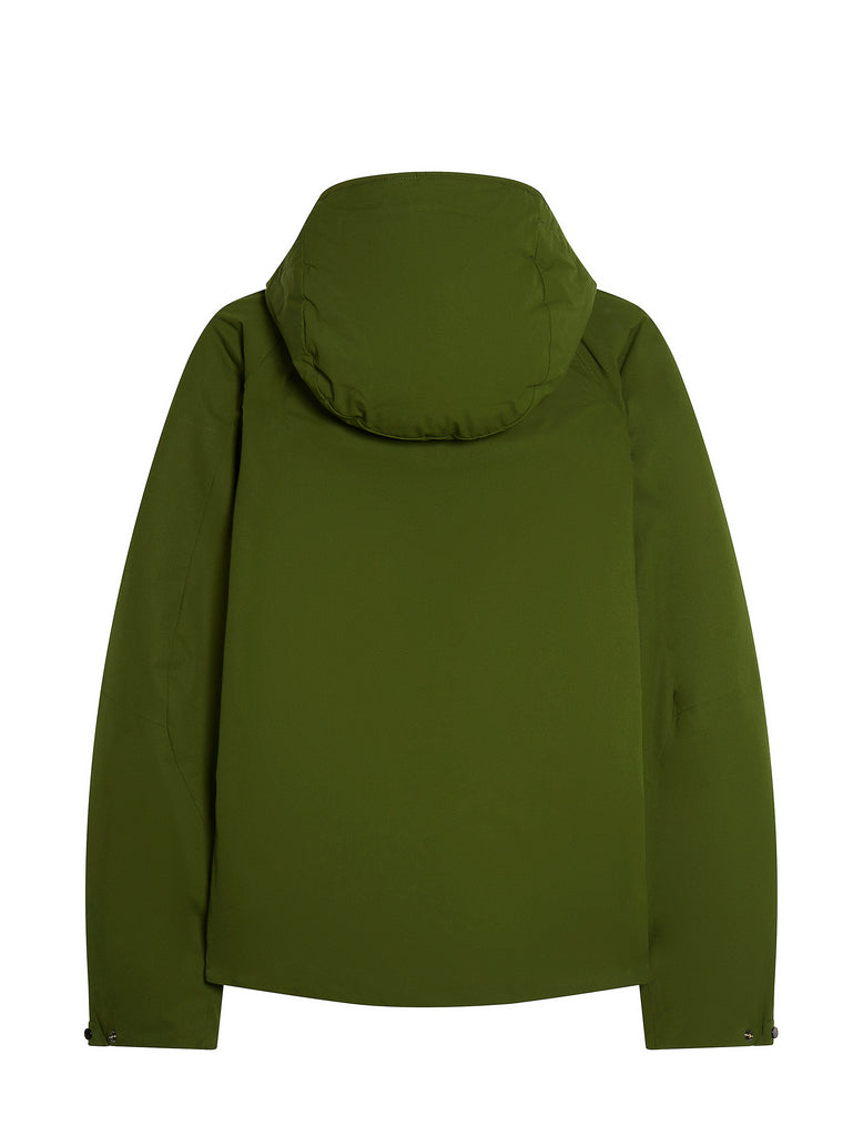 Pro-Tek Drawstring Hood Jacket in Pesto