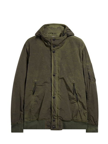 Nycra Re-Colour Migration Hooded Jacket in Cloudburst