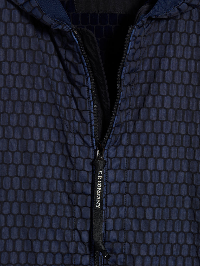 Air-Net 3D Hooded Jacket in Total Eclipse