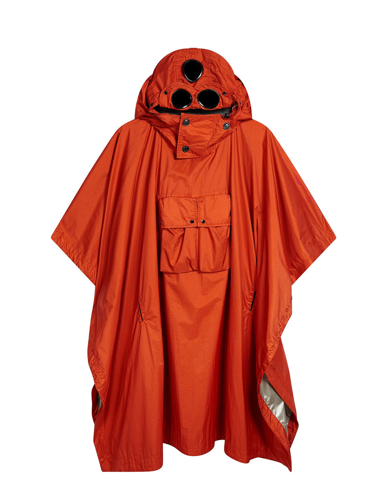 Mind's Eye Poncho in Red