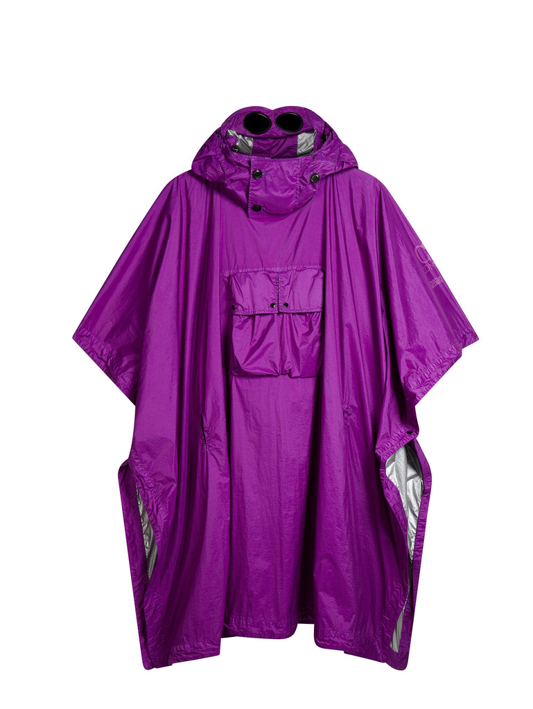 Mind's Eye Poncho in Purple