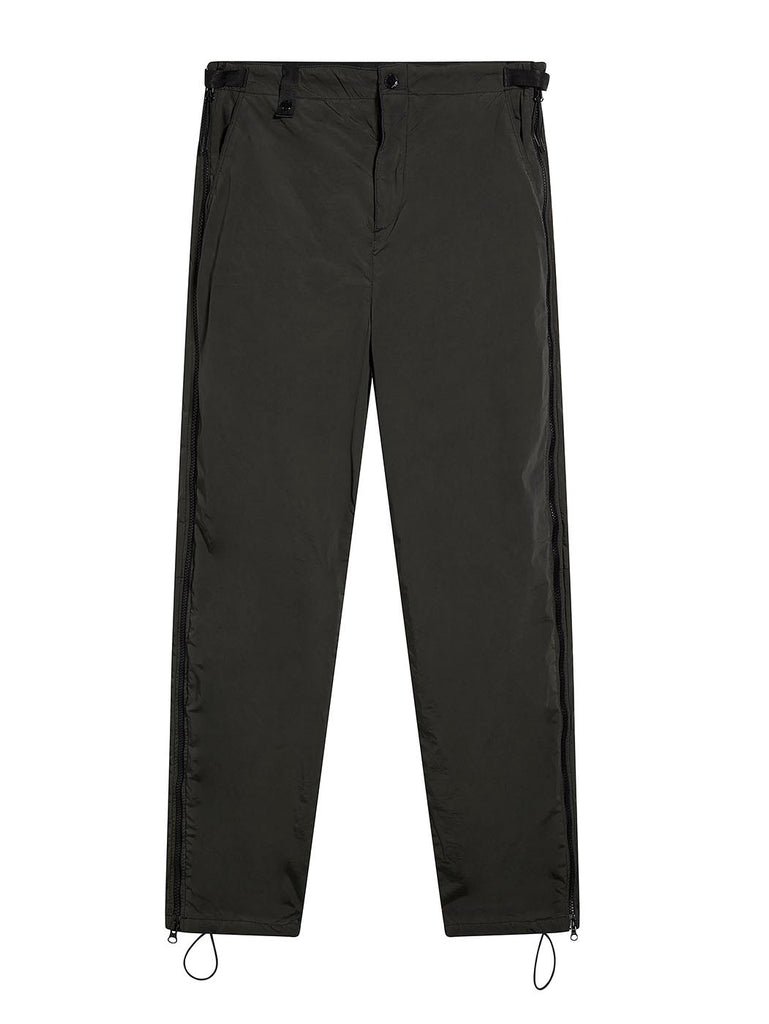 Zip Seam Trouser in Slate Grey