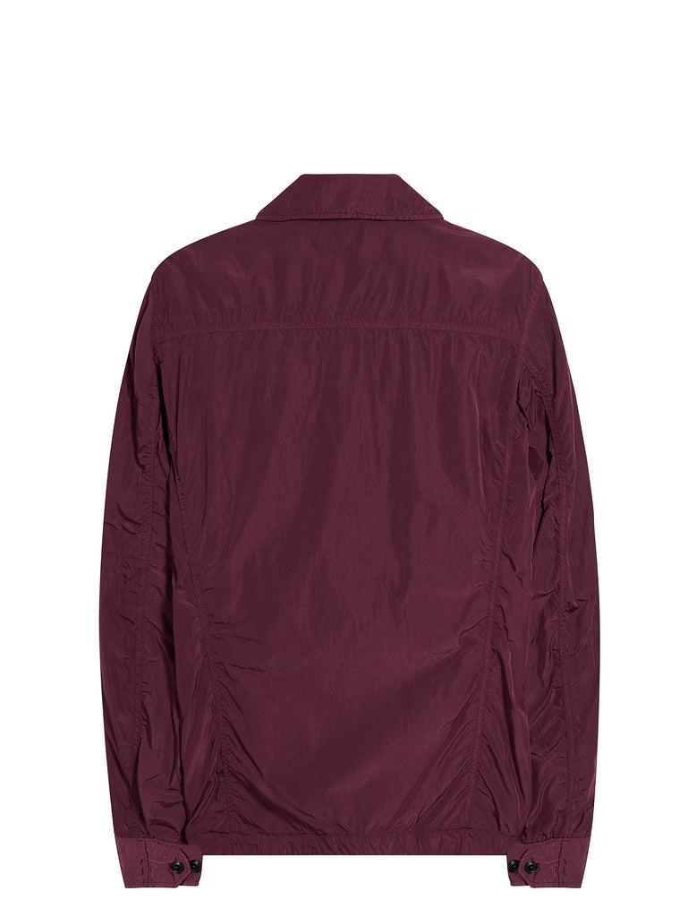Chrome GD Utility Zip Overshirt in Gloxinia Purple