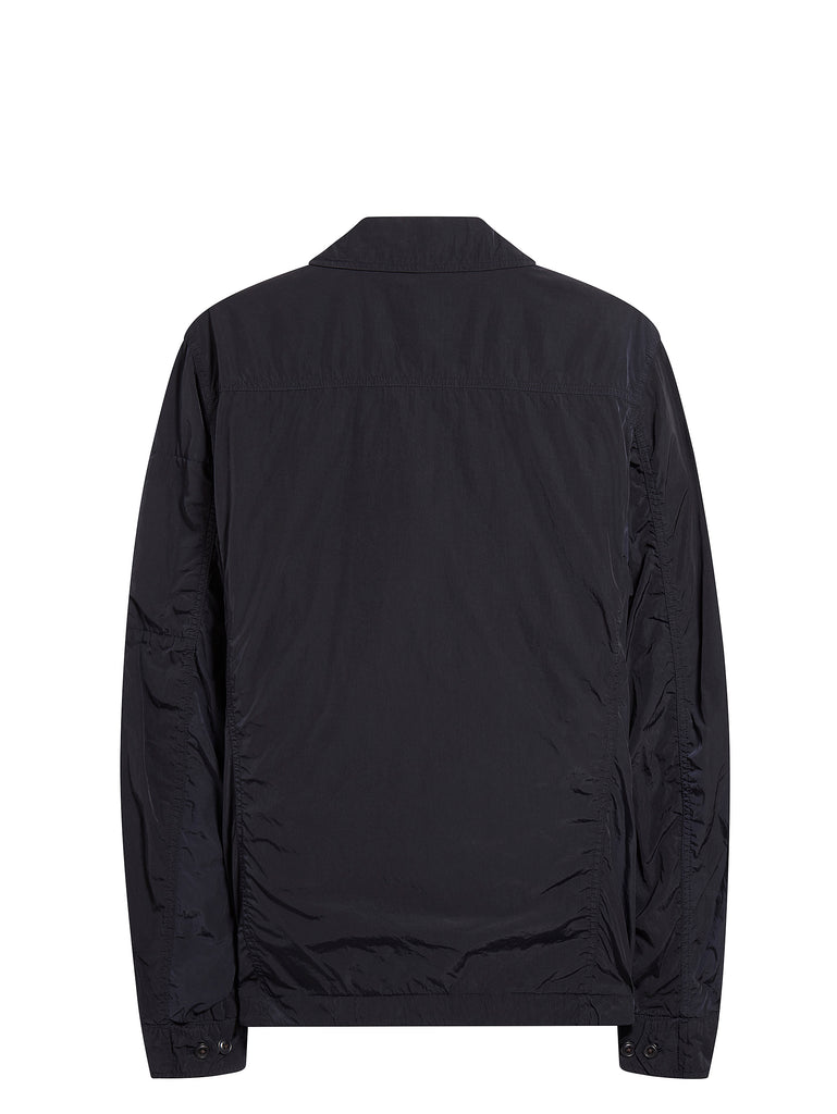 Chrome GD Utility Zip Overshirt in Total Eclipse
