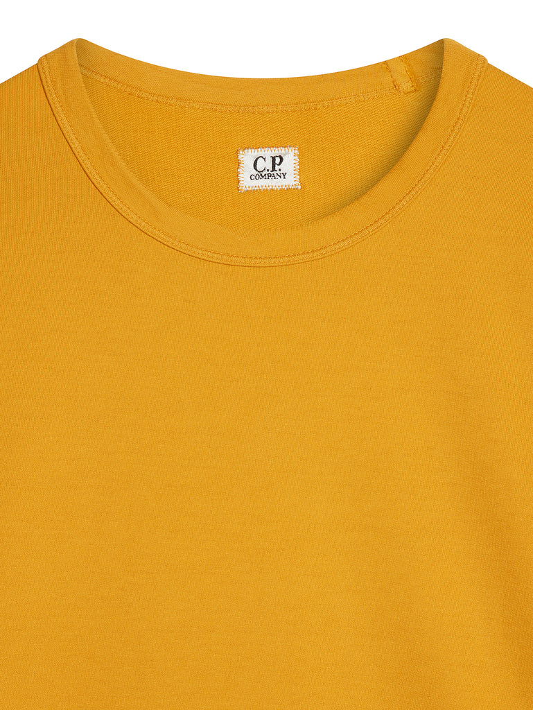 Light Fleece Lens Sweatshirt in Golden Yellow