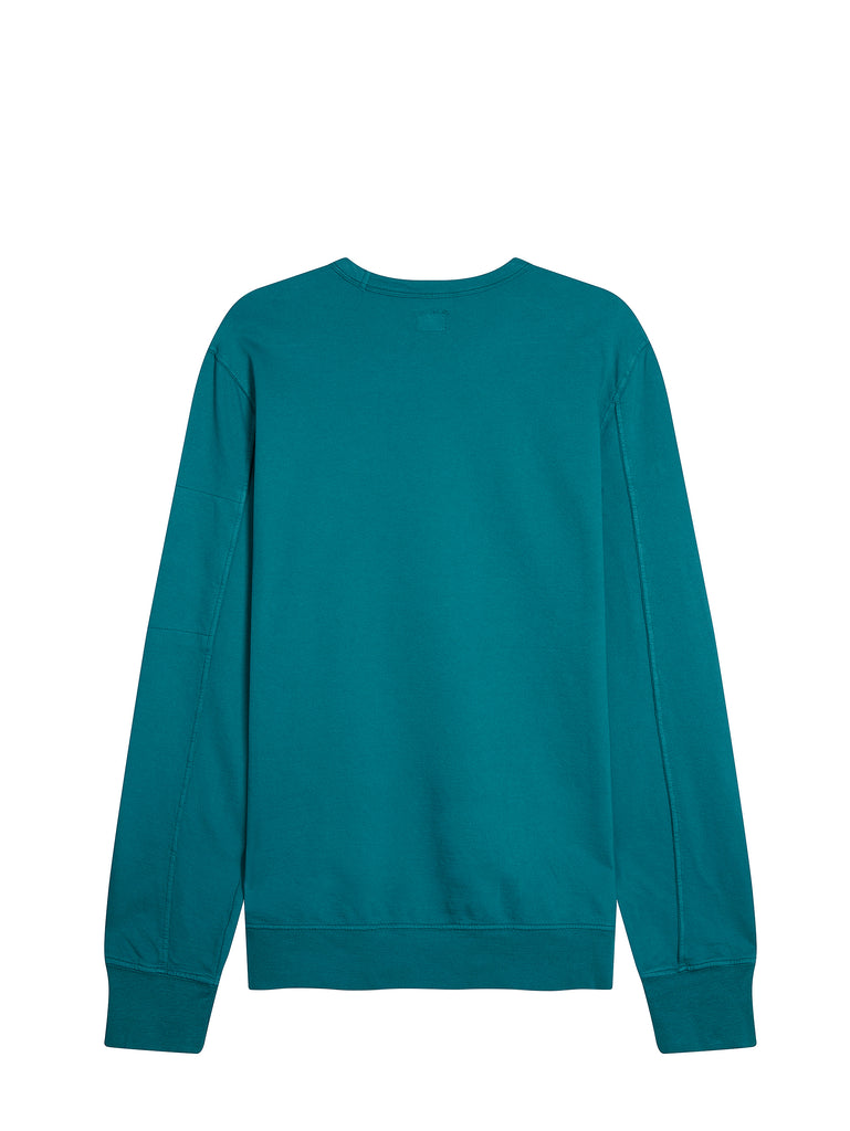 Light Fleece Lens Sweatshirt in North Sea Blue