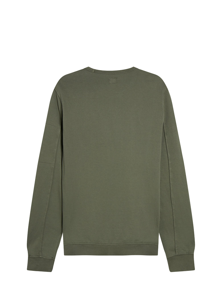 Light Fleece Lens Sweatshirt in Sage
