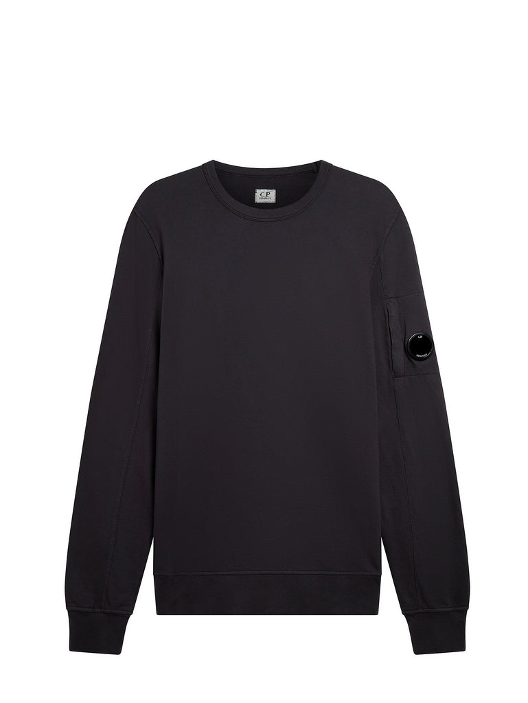 Light Fleece Lens Sweatshirt in Total Eclipse
