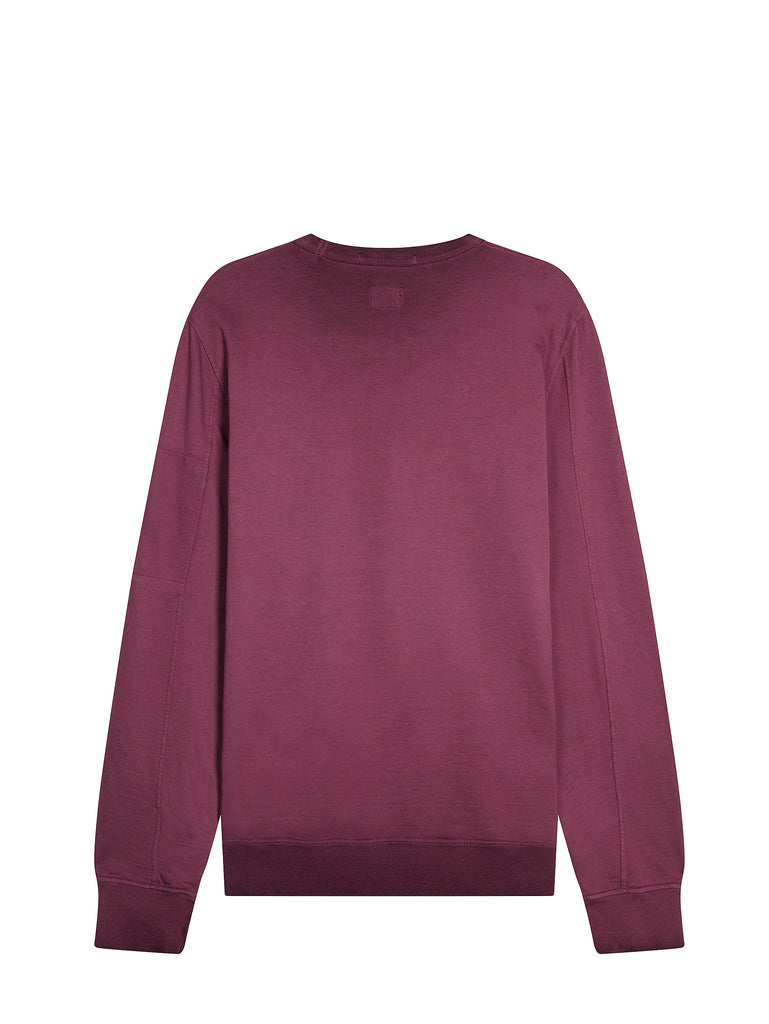 Re-Colour Light Fleece Lens Sweatshirt in Gloxinia Purple
