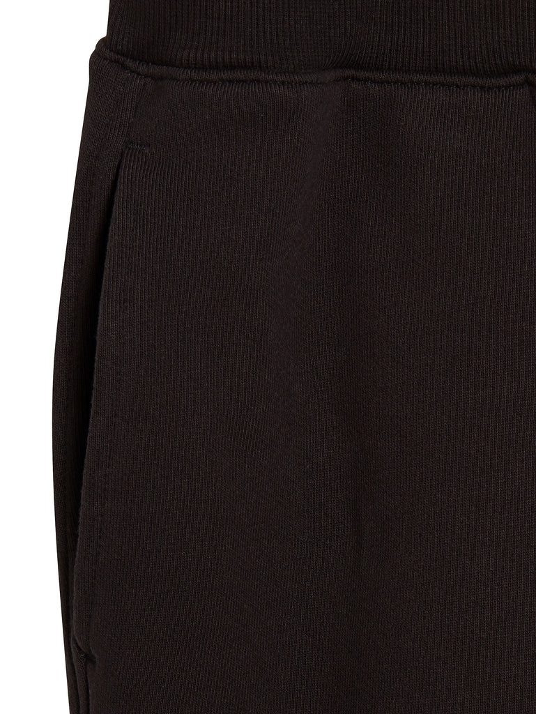 Light Fleece Cargo Sweatpants in Black Coffee