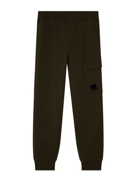 Light Fleece Cargo Sweatpant in Cloudburst