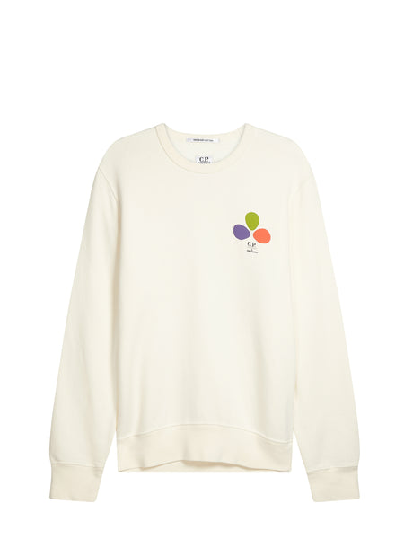 Mind's Eye Sweatshirt in White