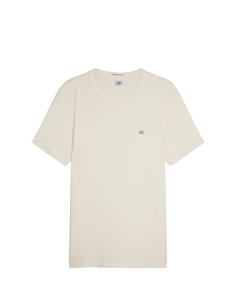 Mako Cotton Logo T-shirt in Gauze White